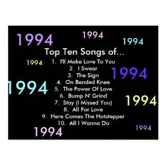 1994 canciones tarjetas postales
