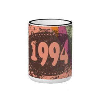 1994 Colorful Pop Art Mug
