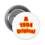 1994 Original Red Pinback Button