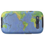 1994 Physical World Map - Tectonic Plates - USGS Galaxy S3 Cover