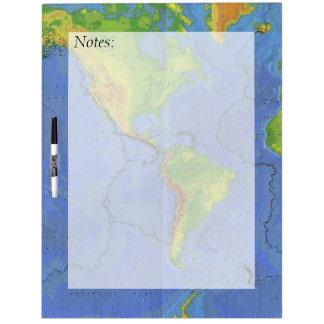 World Map Dry Erase Boards Zazzle