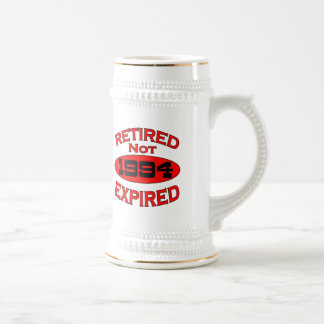 1994 Retirement Year Beer Stein
