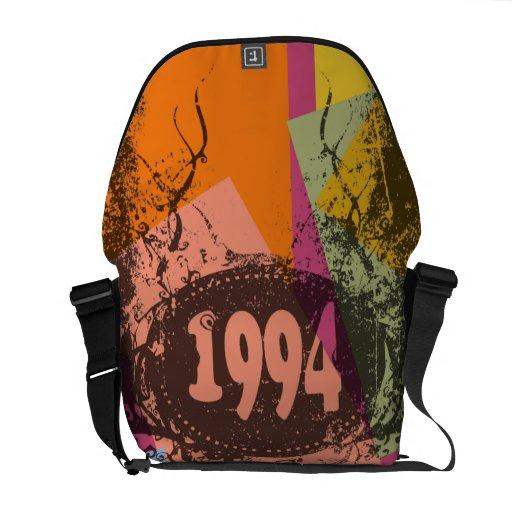 1994 - style pop art design - Messenger Bags