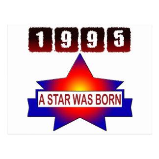 1995 A Star Was Born Postcard