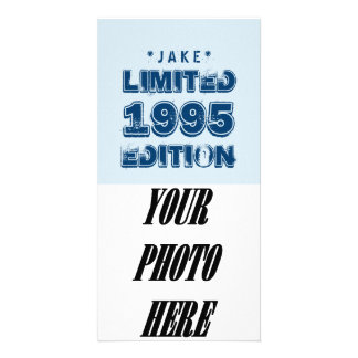 1995 or Any Year Birthday Limited Edition 20th V6Z Photo Card