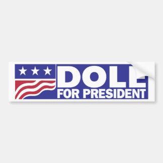 1996 Bob Dole for President Car Bumper Sticker