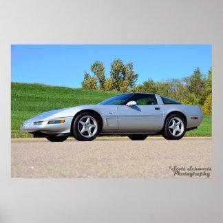 1996 Corvette Collectors Edition Poster