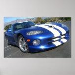 1996 Dodge Viper GTS Poster