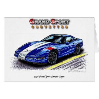 1996 Grand Sport Corvette Coupe Card