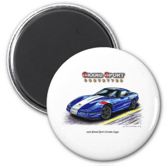 1996 Grand Sport Corvette Coupe Magnet