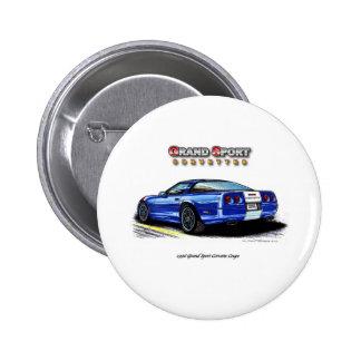 1996 Grand Sport Corvette Coupe Rear View Pins