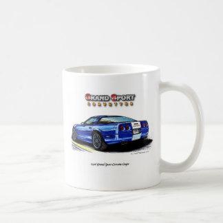 1996 Grand Sport Corvette Coupe Rear View Coffee Mug