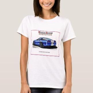 1996 Grand Sport Corvette Coupe Rear View T-Shirt