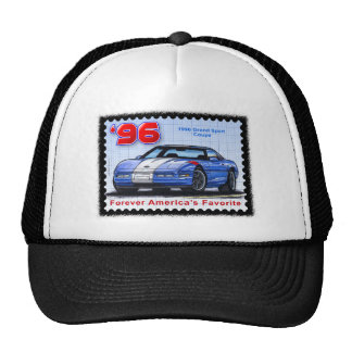 1996 Grand Sport Special Edition Corvette Trucker Hat