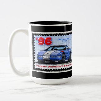 1996 Grand Sport Special Edition Corvette Two-Tone Coffee Mug
