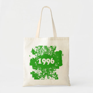 1996 - Green Vintage retro - Tote Bags