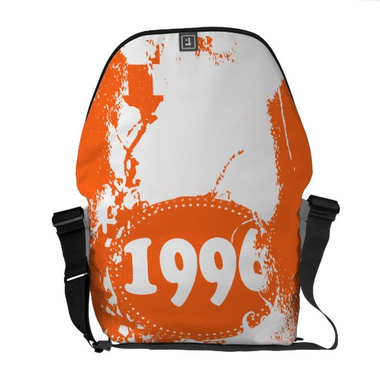 1996 - Orange Vintage retro - Messenger Bag