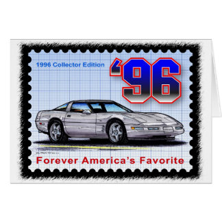 1996 Special Edition Corvette Card