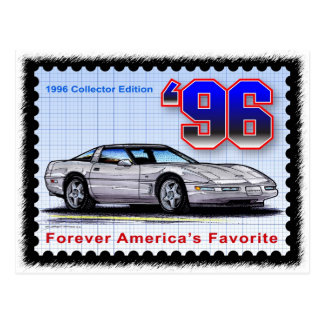 1996 Special Edition Corvette Postcard