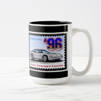 1996 Special Edition Corvette Two-Tone Coffee Mug
