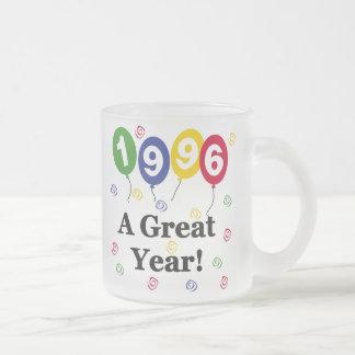 1996 un cumpleaños del gran año tazas de café