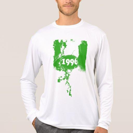 1996 - Vintage verde retro - camiseta Poleras