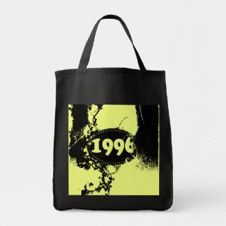 1996 - Yellow Vintage retro - Tote Bags