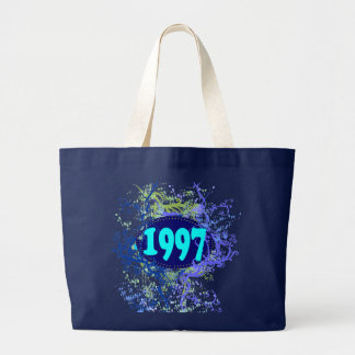 1997 - Colorful Vintage retro - Tote Bags