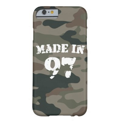 1997 Made In 97 iPhone 6/6s Barely There iPhone 6 Case