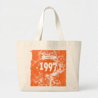 1997 -  Orange Vintage retro - Tote Bags