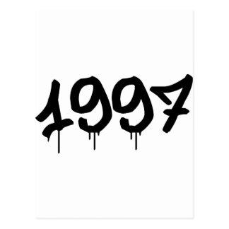 1997 TARJETAS POSTALES