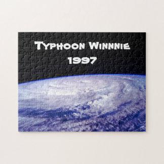 1997 Typhoon Winnie Puzzle