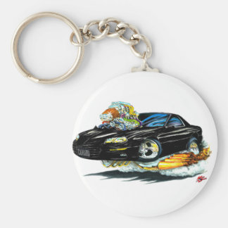 1998-02 Camaro Black Car Keychain