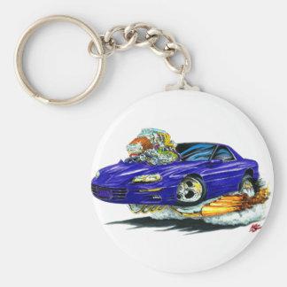 1998-02 Camaro Blue Car Keychain