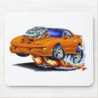 1998-02 Firebird Trans Am Orange Car Mouse Pad