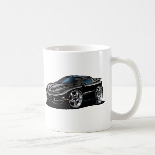 1998-02 Trans Am Black Car Classic White Coffee Mug