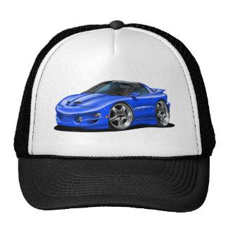 1998-02 Trans Am Blue Car Trucker Hat