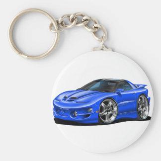 1998-02 Trans Am Blue Car Keychain