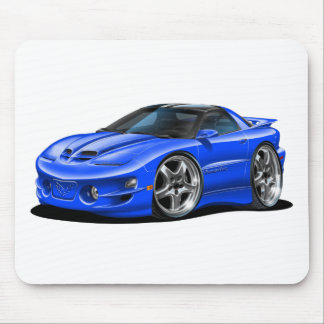1998-02 Trans Am Blue Car Mouse Pad