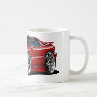 1998-02 Trans Am Maroon Car Coffee Mug
