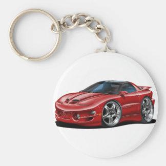 1998-02 Trans Am Maroon Car Keychain