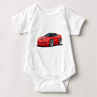 1998-02 Trans Am Red Car Infant Creeper