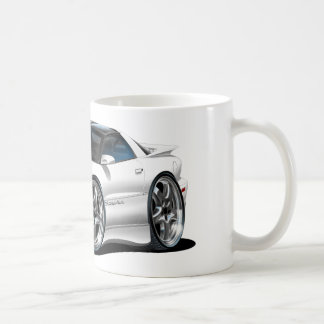 1998-02 Trans Am White Car Coffee Mug