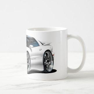 1998-02 Trans Am White Car Coffee Mug