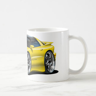 1998-02 Trans Am Yellow Car Coffee Mug