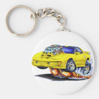 1998-02 Trans Am Yellow Car Key Chain