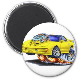 1998-02 Trans Am Yellow Car Magnet