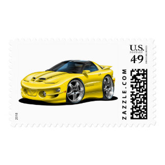 1998-02 Trans Am Yellow Car Stamps