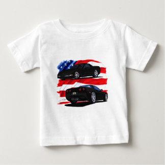 1998-04 Corvette Black Car Baby T-Shirt