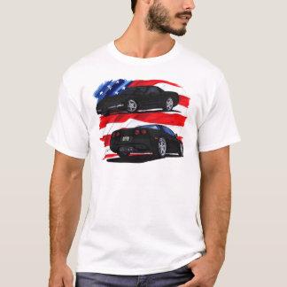 1998-04 Corvette Black Car T-Shirt